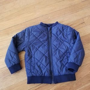 HM diamond quilted jacket